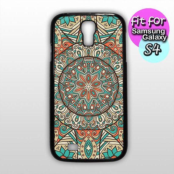 mandala pattern mandala case for samsung galaxy s4 by etbay, $12.99