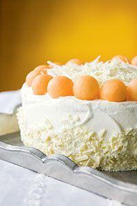 Vanilja-raparperikakku #valkosuklaa #meloni | Pääsiäinen | Reseptit | Valintatalo