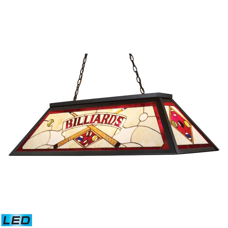 tiffany stained glass billiard light gameroom lighting