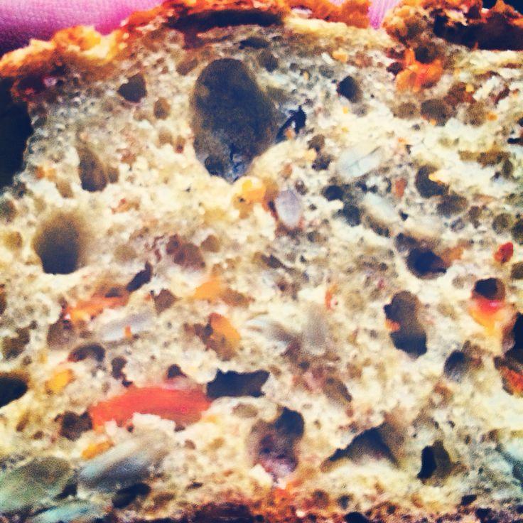 Brød med gulerod