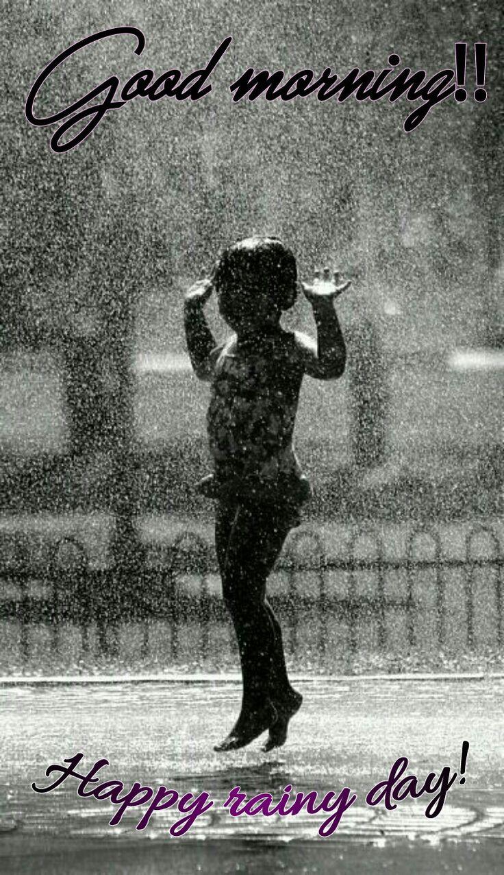 Happy Rainy Morning M! xx ;))/ Thank You A!It's still raining! xx :-))