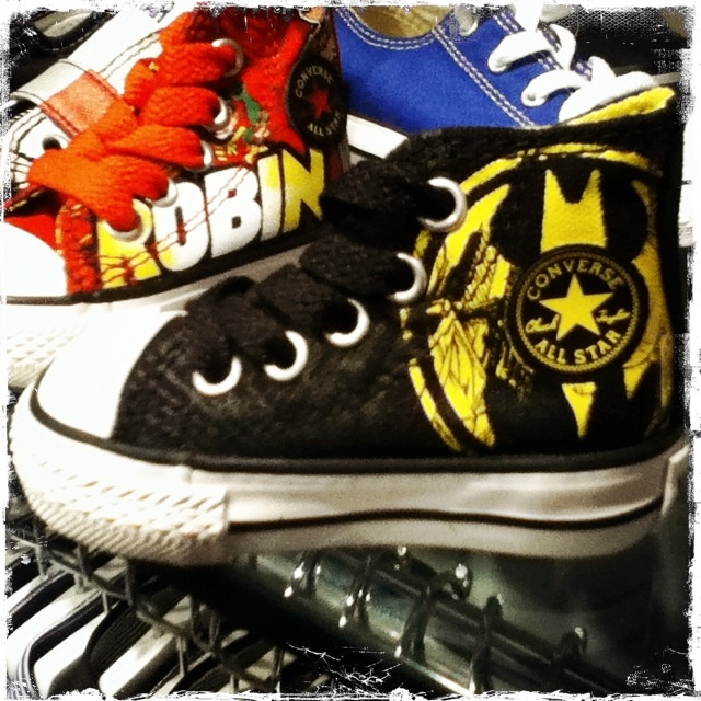 7d078af58e79 Batman Converse for baby!! saw these the other day.. getting them ...