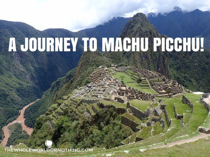 Machu Picchu | Inca Trail Hike | Trekking Peru | Inca Ruins Peru | Peru Must See | World Best Hike