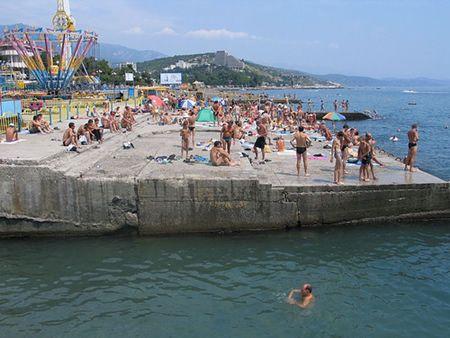 Krymskie plaże