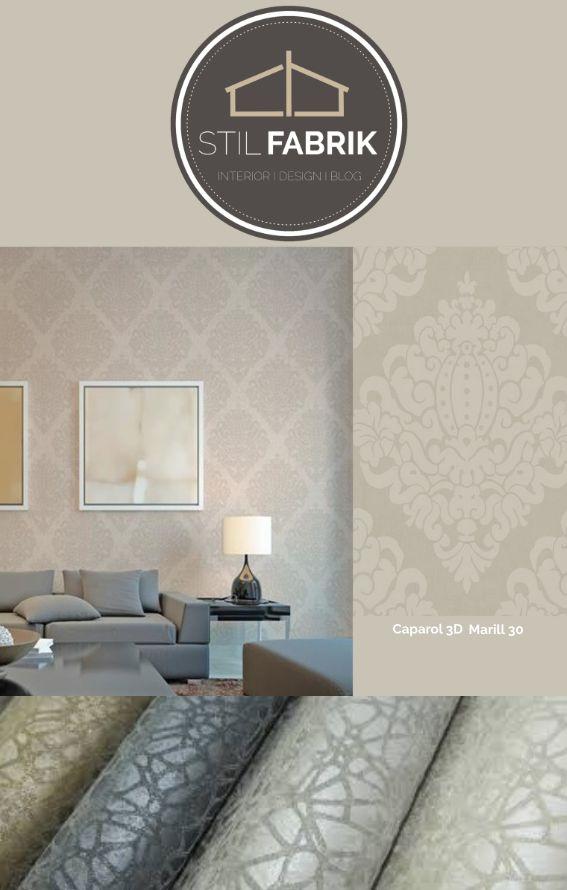 18 best Обои images on Pinterest Indigo, Pattern and Style - wandgestaltung wohnzimmer braun grau
