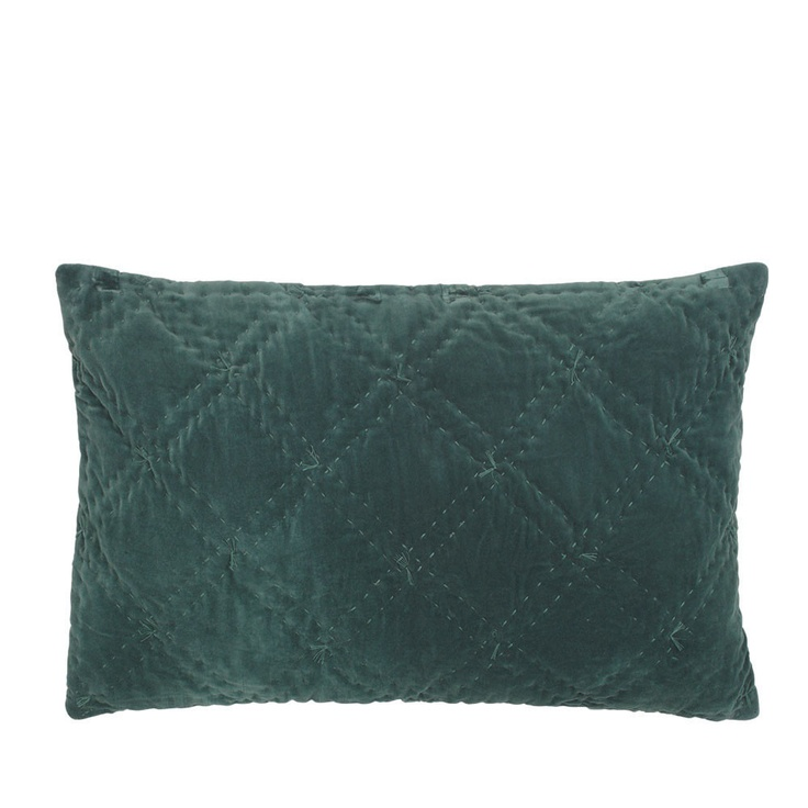 Day Birger Et Mikkelsen - Vintage Velvet Stitch Cushion Cover - Jade - 40x60cm