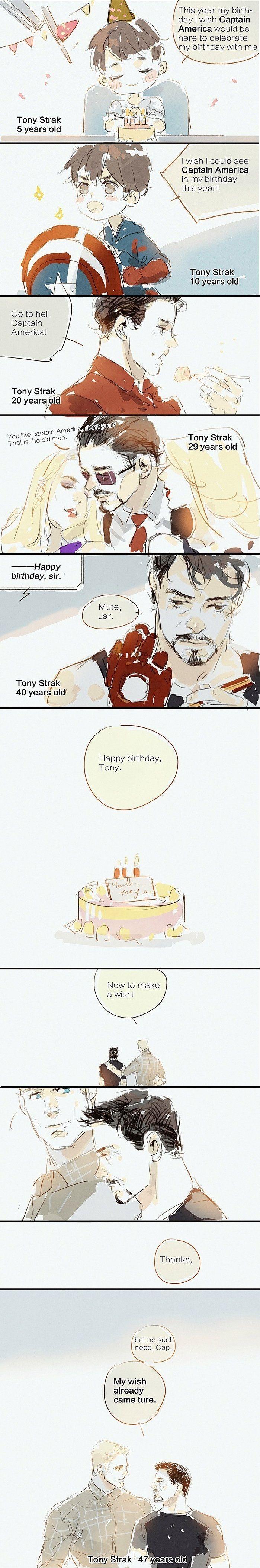 #Stony #SteveRogers #CaptainAmerica #TonyStark #IronMan I see that author made a mistake in the Tony's surname