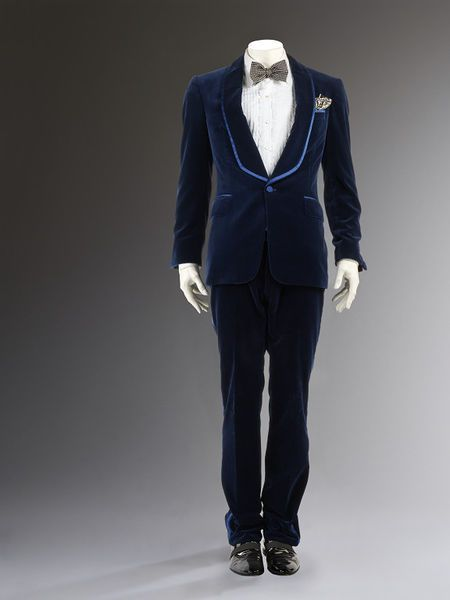 Dinner suit ensemble by Tom Ford for Gucci, 2004 | Victoria and Albert Museum #fashion #couture