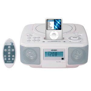 Jensen Docking Digital Music System with CD for iPod JiMS-210 Alarm Clock – Emily Kanter Zalewski