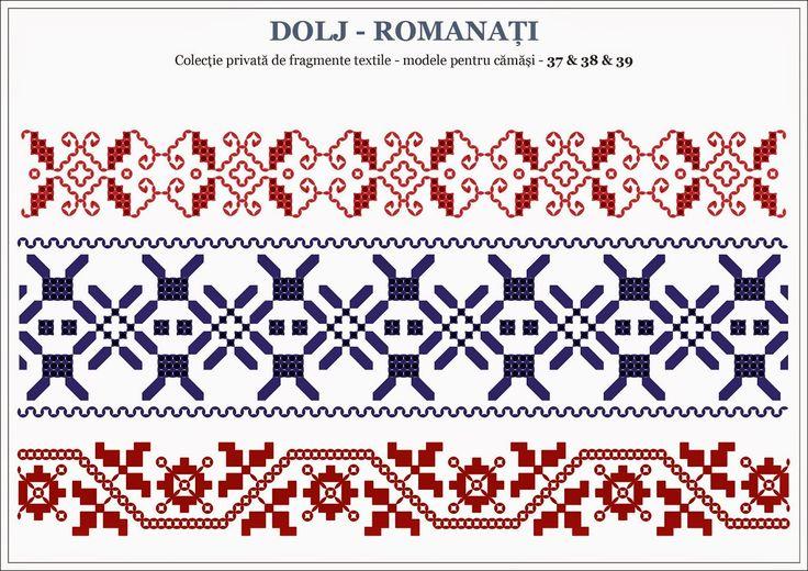 Semne Cusute: motive traditionale romanesti - OLTENIA, Dolj / Ro...