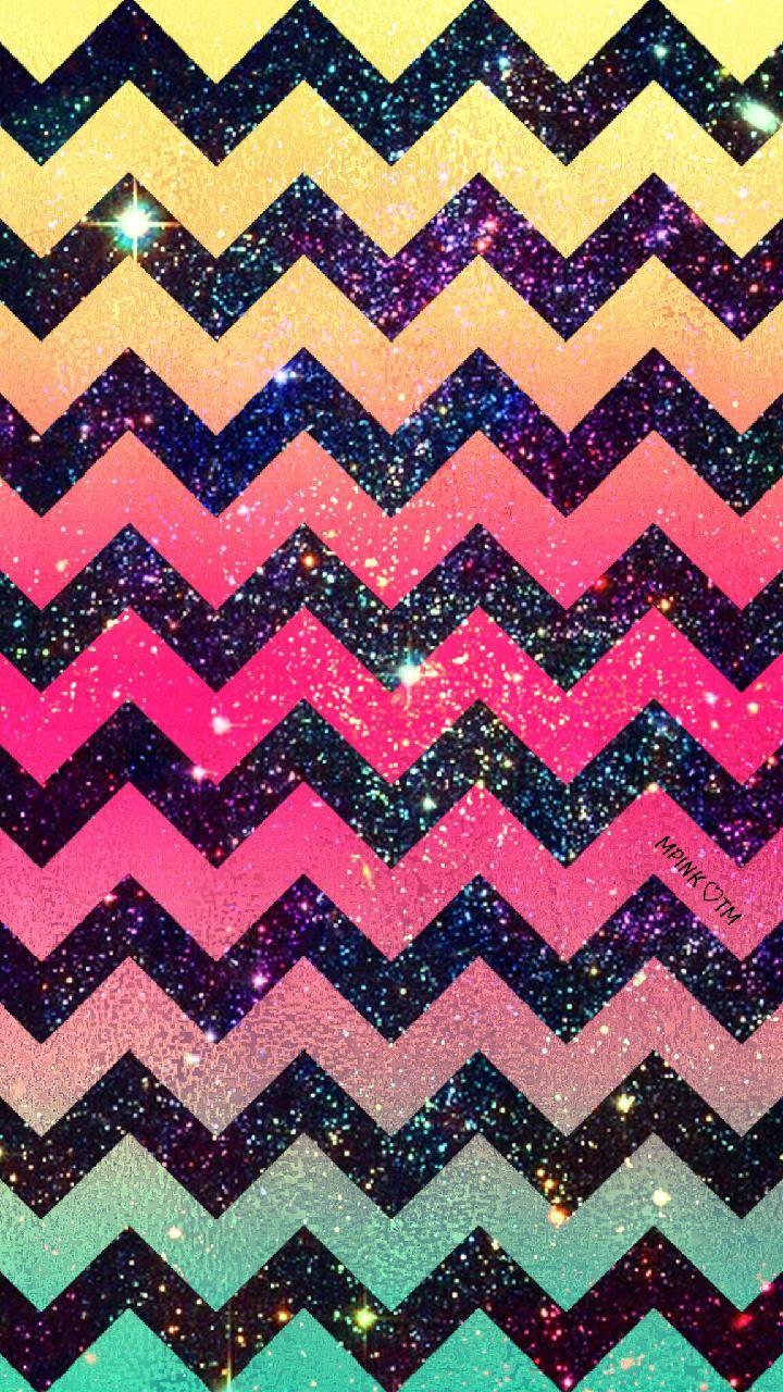 Rainbow Chevron Galaxy Wallpaper Androidwallpaper Iphonewallpaper Wallpaper Galaxy Sparkle Glitt Wallpaper Iphone Cute Chevron Wallpaper Galaxy Wallpaper