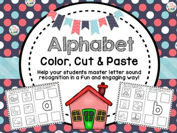 Want a fun and engaging way to help introduce and reinforce initial sounds in words and help recognition of lower case letters? Then grab 'Alphabet Color, Cut & Paste'.Students will:1) Color all pictures that begin with the targeted letter. 2) Cut out the coloured pictures.3) Stick them in the boxes.A great activity to use during your reading block or when introducing the alphabet!