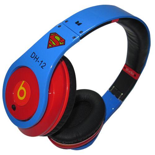 Monster Beats By Dre Studio Headphones Superman  d7fd62ea33