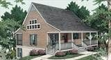 Cottage House Plan with 2 Bedrooms and 1.5 Baths - Plan 3485