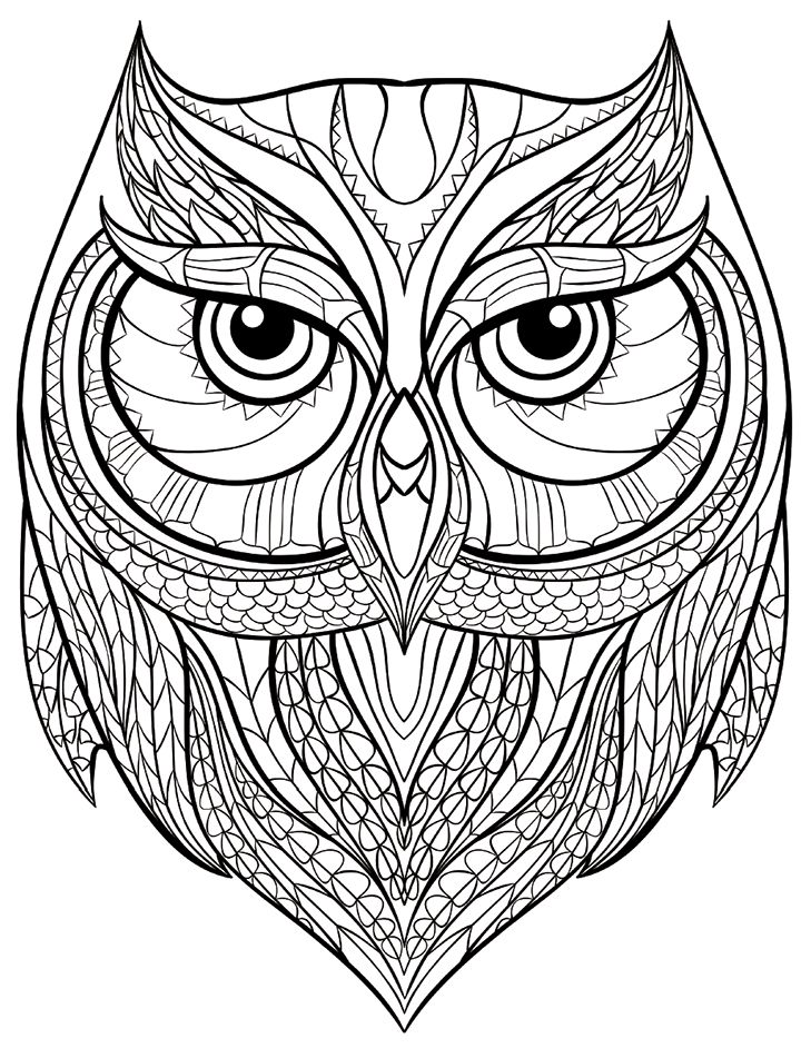 2045 best coloring pages - animals images on pinterest | coloring ... - Art Therapy Coloring Pages Animals