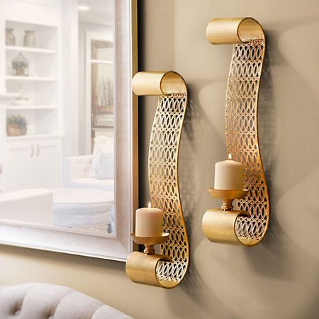 Wall Sconces At Kirklands : 17 Best images about Home on Pinterest Floor mirrors, Duvet covers and Sheet sets