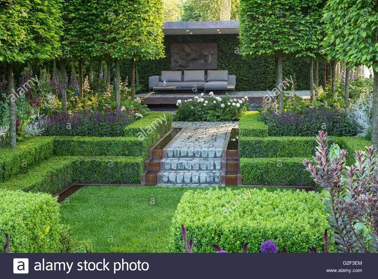 Image result for sunken courtyard garden