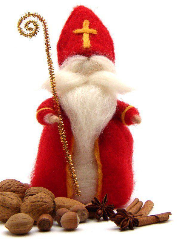Bastelanleitung: Sankt Nikolaus