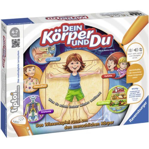 Ravensburger 00560 – Tiptoi – Dein Körper und du, ohne Stift | Your #1 Source for Toys and Games