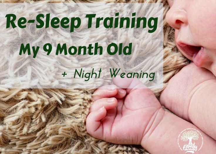 An easy way for sleep training & night weaning babies around 9 months old. Not a cry-it-out approach, but keeping a simple, consistent routine is key.