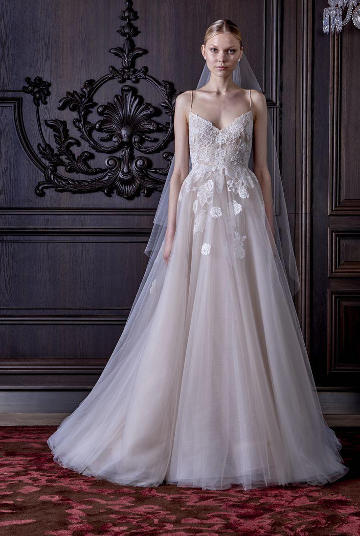 Severine Monique Lhuillier Spring 2016 Bridal Collection