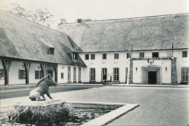 Carinhall Hermann Goering Residence History Ww Ii