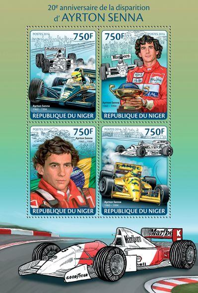 Resultado de imagem para SELO DE Ayrton Senna