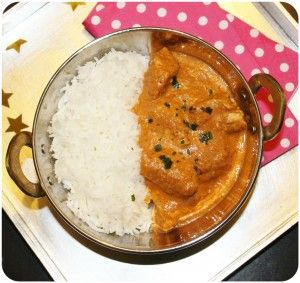 Butter chicken {Poulet Makhani}