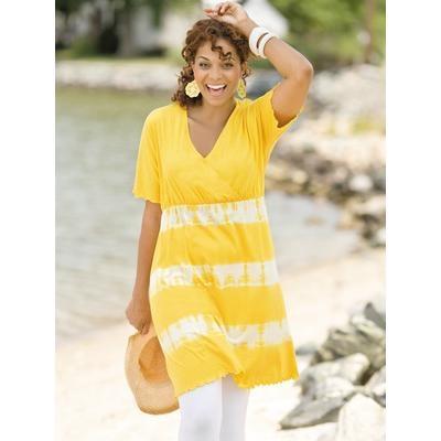 Free Printable Sewing Patterns Tunics | ... Popken Women's Plus Size Surplice Tie-dye Tunic Dress by Ulla Popken