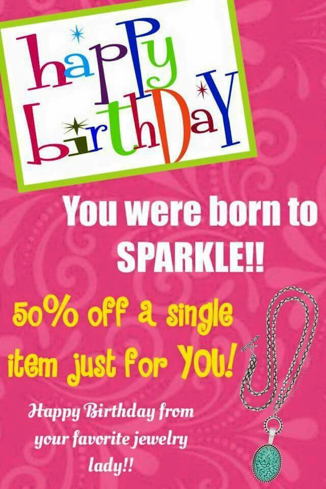 Let me know when it's your Birthday!  Follow me on Facebook - YDCanoPremierDesigns