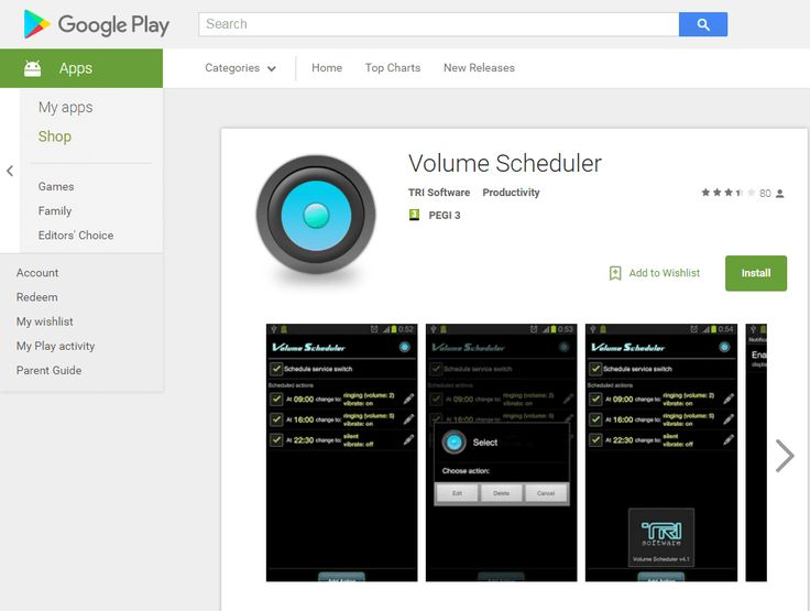 Volume Scheduler Makes Automatically Changes Your Phone's Ringtone on Based Time and Day