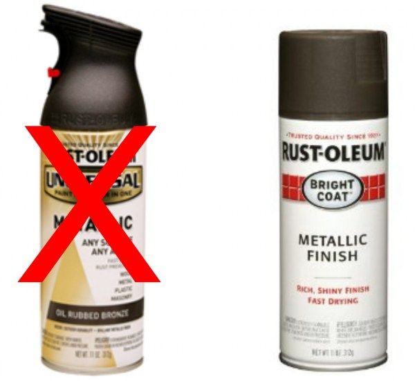 Rustoleum Spray Paint Colors For Metal Part - 27: Spray Painting Door Hardware