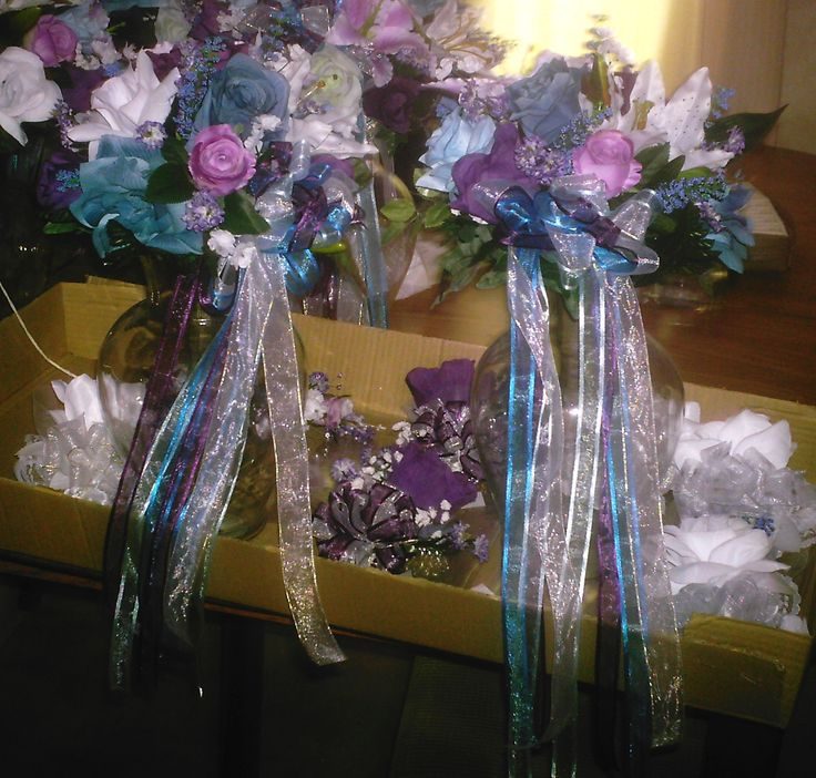 Bridesmaids Bouquets for Lisa