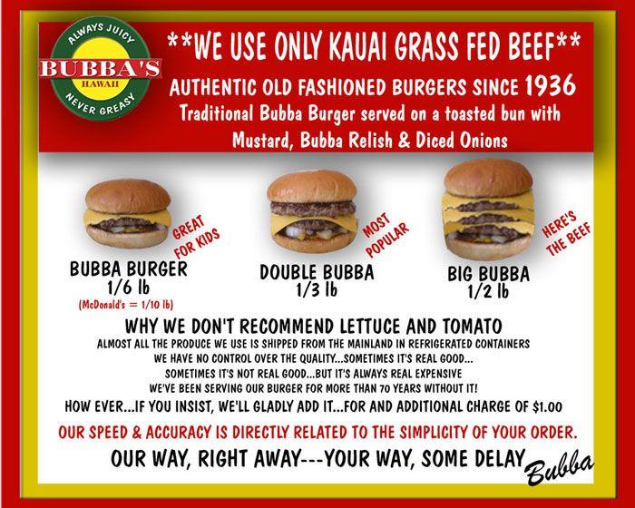 Bubba S Burgers Big Island