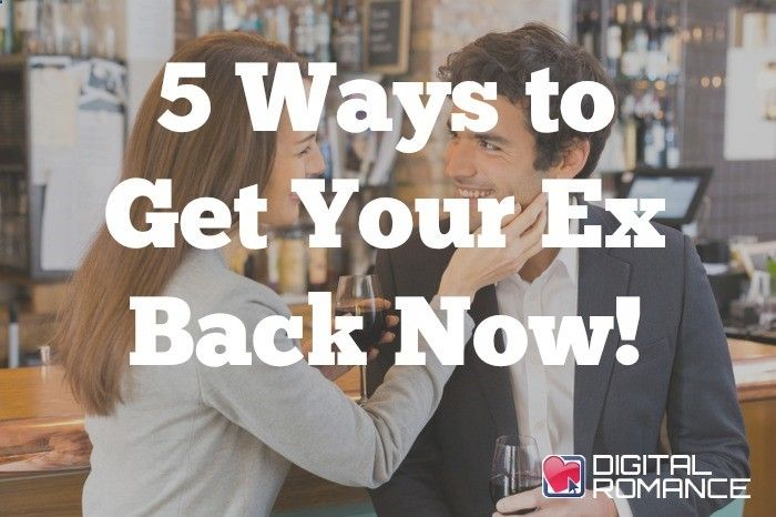 5 Ways to Get Your Ex Back Now! - Breaking up rarely happens smoothly and even the most volatile break-ups leave confusing feelings in their wake. Here are some easy steps that Lucy Jones recommends to take try and get your ex back…along with the potential risk as a result and the pitfalls to avoid. #exes #breakups #relationship #advice