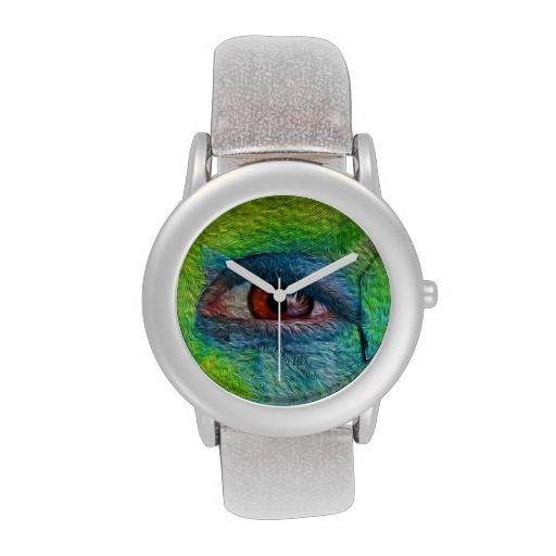 Eye flower wristwatch