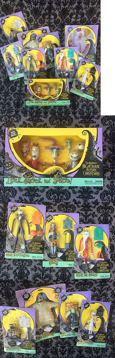 Nightmare Before Christmas 36586: Nightmare Before Christmas Toys -> BUY IT NOW ONLY: $175 on eBay!