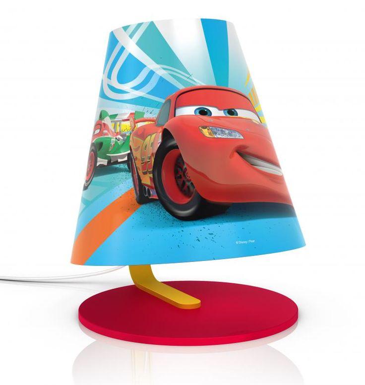 Cars Disney Φωτιστικό Κομοδίνου LED
