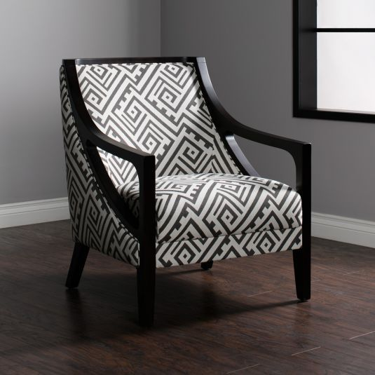 Modern Occasional Chair | Grey Accent Chair | Jeromeu0027s
