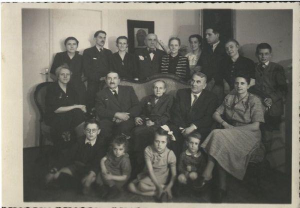 Rodz.Szweycerów lata 50-te Poznań