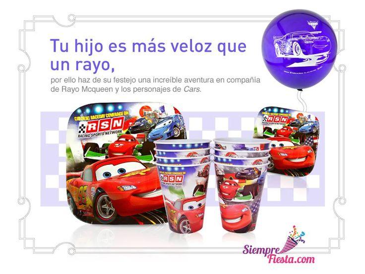 Mejores 34 imgenes de Fiesta de Cars Disney en Pinterest En