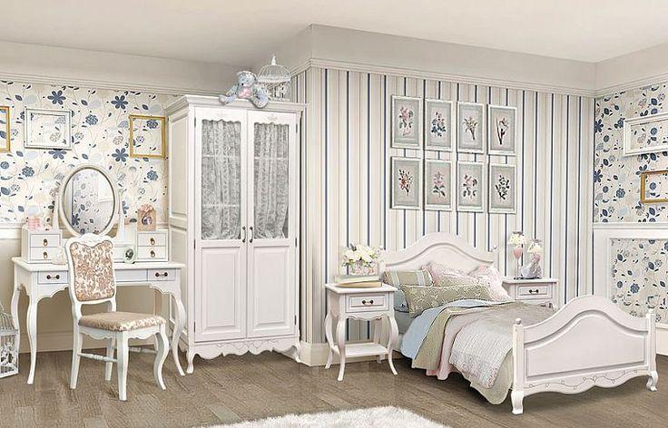 Спальня «Джульетта» от Wellige | Мебель для спальни из берёзы в стиле Прованс