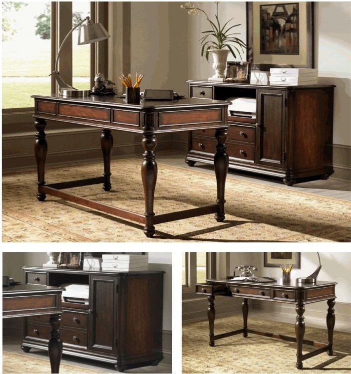 Solid Wood Home Office Furniture Set Decoration Home Design Ideas Mesmerizing Solid Wood Home Office Furniture Set Decoration