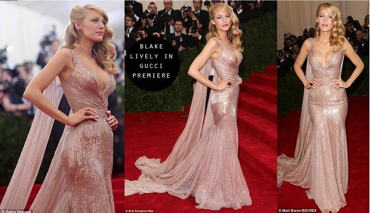 blake lively met gala dress - Google Search