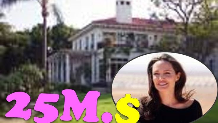 🤓😀 Angelina Jolie's New House || Buys $25 Million Cecil B. DeMille Mansion