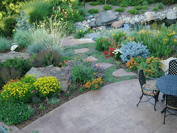 3 Landscape Design Ideas Inspired By The Denver Botanic Gardens Lifescape Colorado Xeriscape Landscaping Xeriscape Front Yard Xeriscape