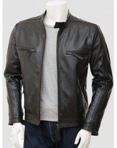 Bikers Black  Mens Leather  Jacket