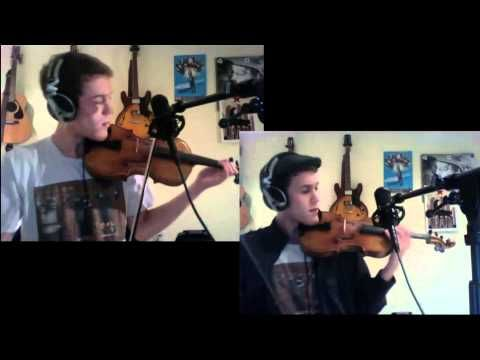 Edward Maya/MGMT - Stereo Love/Kids (VIOLIN COVER) - Peter Lee Johnson - My FAVE