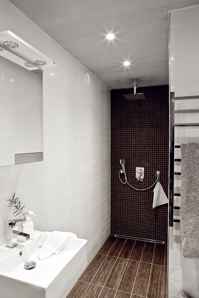 salle-de-bain-lnl1 Salle de bain Pinterest Tiny bathrooms