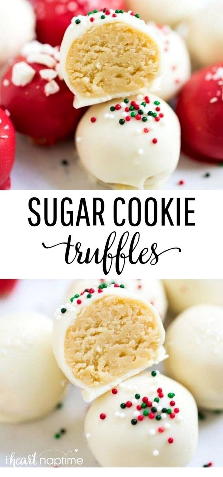 Christmas 2020 Site:Pinterest.Com https://desserts.pingle.site/sugar cookie truffles baking recipes